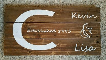 pallet wood signs, chalkboard paint, crafts, pallet, wall decor