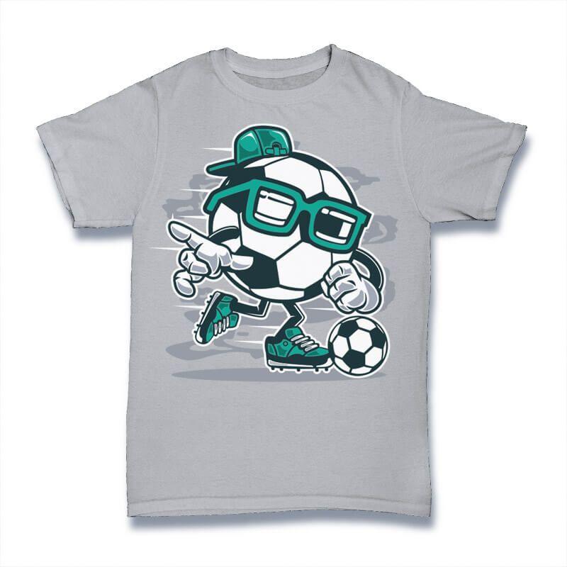 Street Soccer Graphic T Shirt Design Buy T Shirt Designs Kids Shirts Design Unisex Kids Clothes Cartoon T Shirts