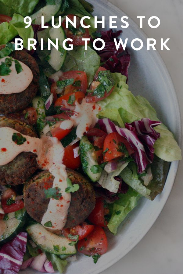 9 Lunches to Bring to Work