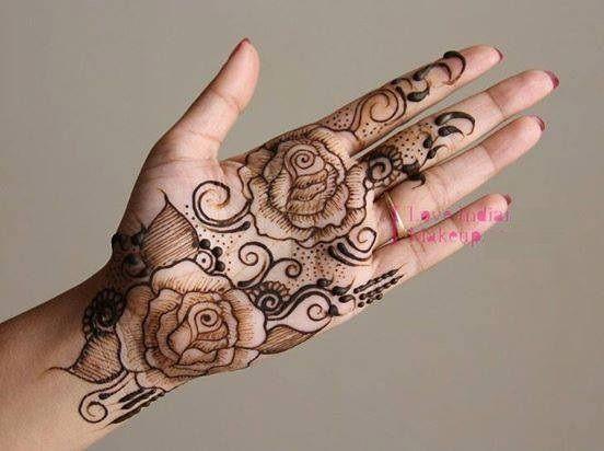 Tattoo Mehndi Tangan : Pyare rose mehndi images mehendi