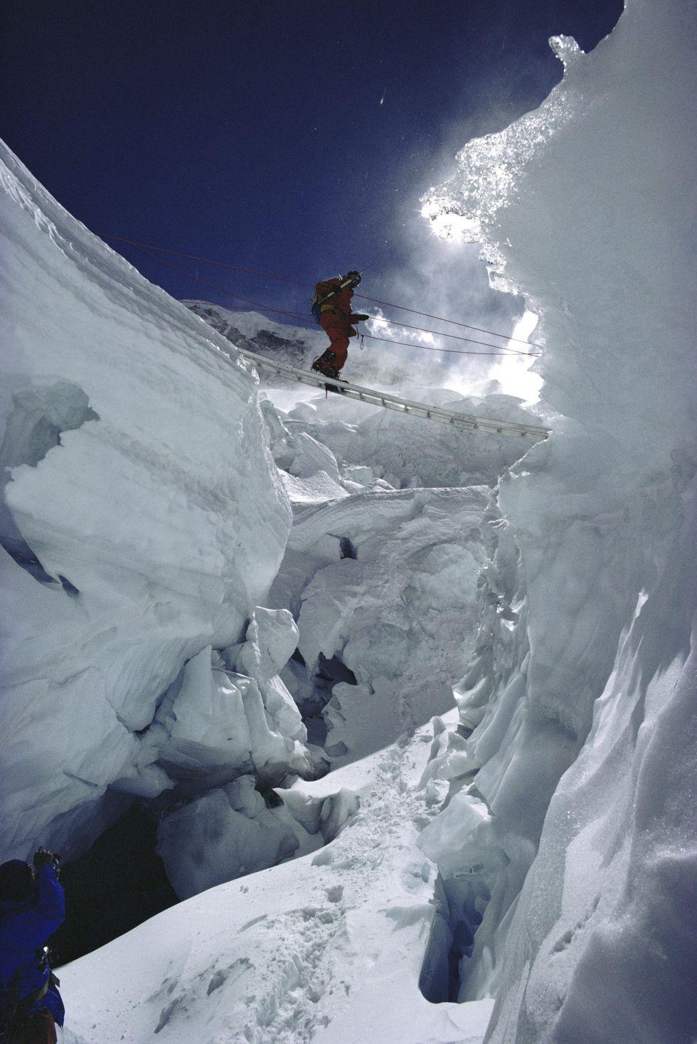 Carne de cañón en el Everest Nepal trekking, Ice