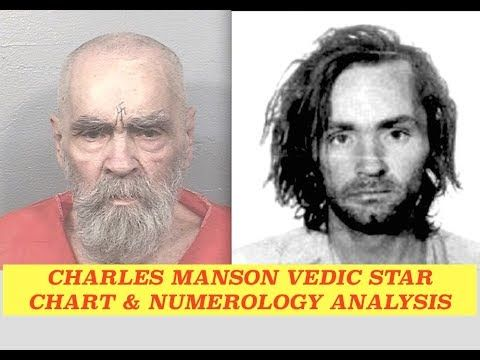 Inside The Mind Of Charles Manson Detailed Vedic Charts