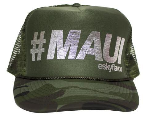 9415ddfaf ESKY FLAVOR HAT - #MAUI OLIVE GREEN/CAMO | ESKY FLAVOR Hats ...