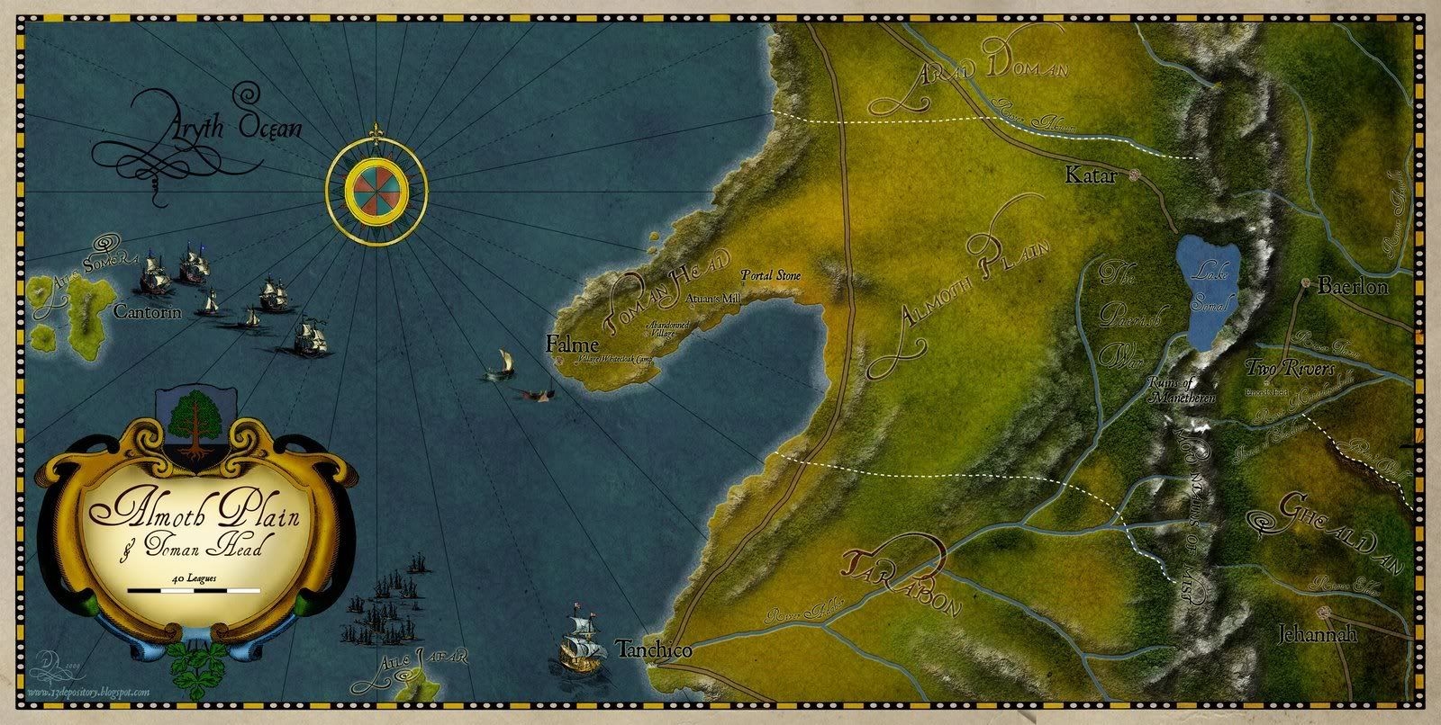 Wheel of Time map - Page 2 - Alternate History Discussion Board ...