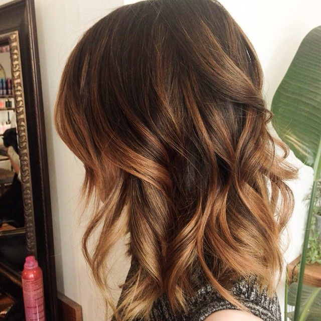 Pretty Caramel Blonde Highlights With Asian Complexion
