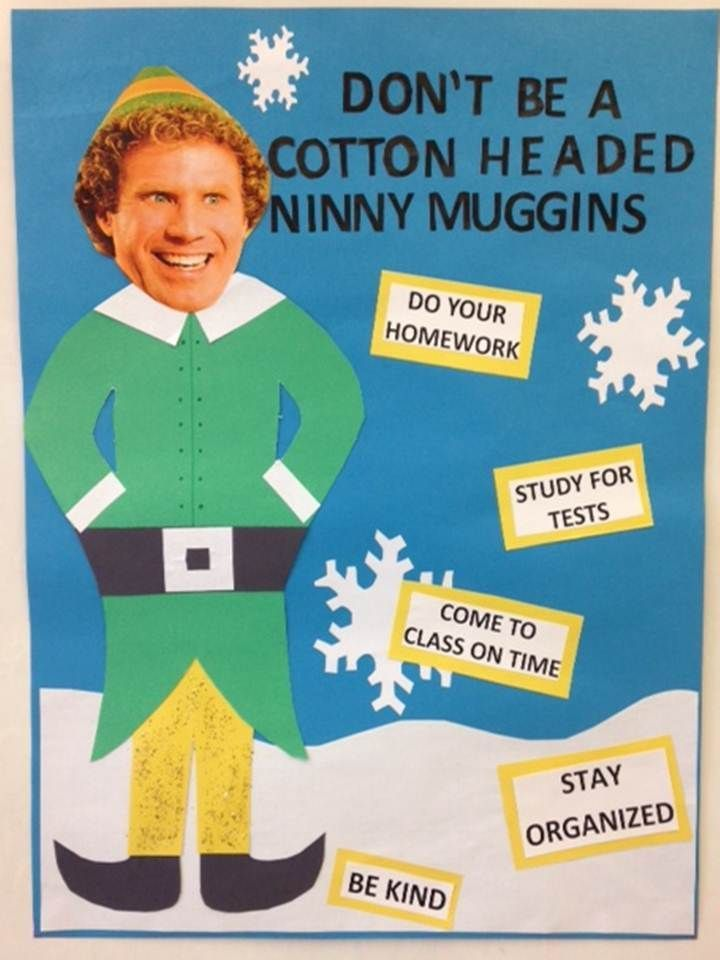 Buddy The Elf Door Decorations | Psoriasisguru.com