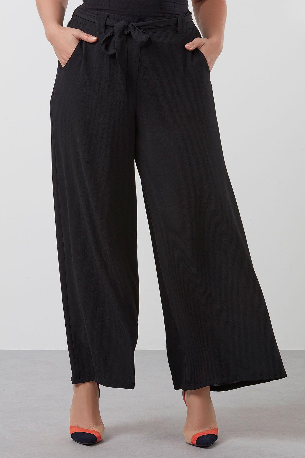 Noir Pantalon Large A Ms Mode Selection Ms Mode Pinterest