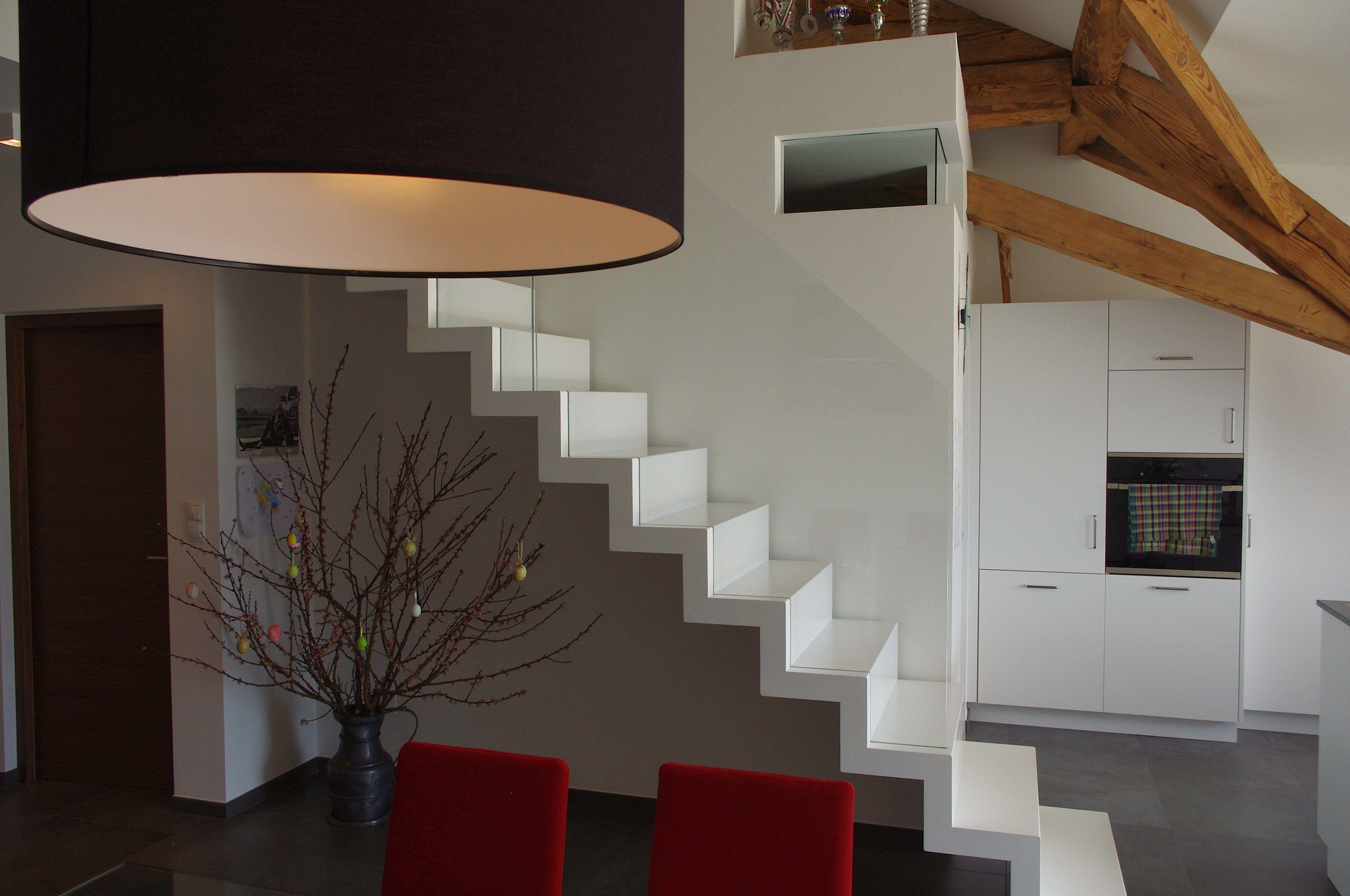 Escalier Ouvert Demi Tournant Autoportant 700 By Interbau