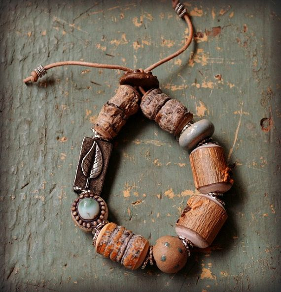 [nb - clasp]  Grow Strong by LoreleiEurtoJewelry on Etsy, $45.00
