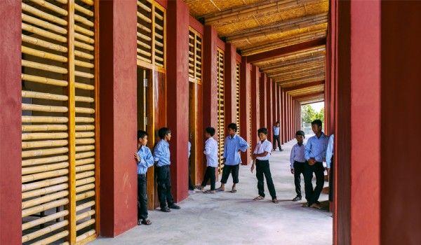 Scuola e sostenibilità, Architetti Senza Frontiere per la Cambogia