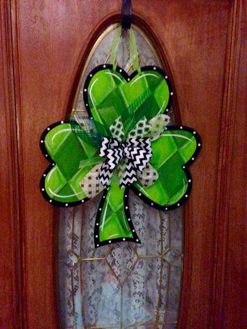 Spring Door Hangers Wooden