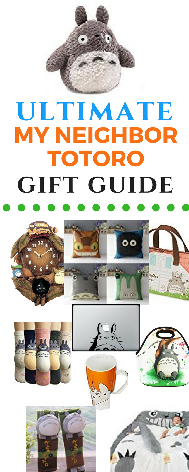 The Ultimate My Neighbor Totoro Gift Guide is a diverse collection of My  Neighbor Totoro products 0f4f8b2cdf