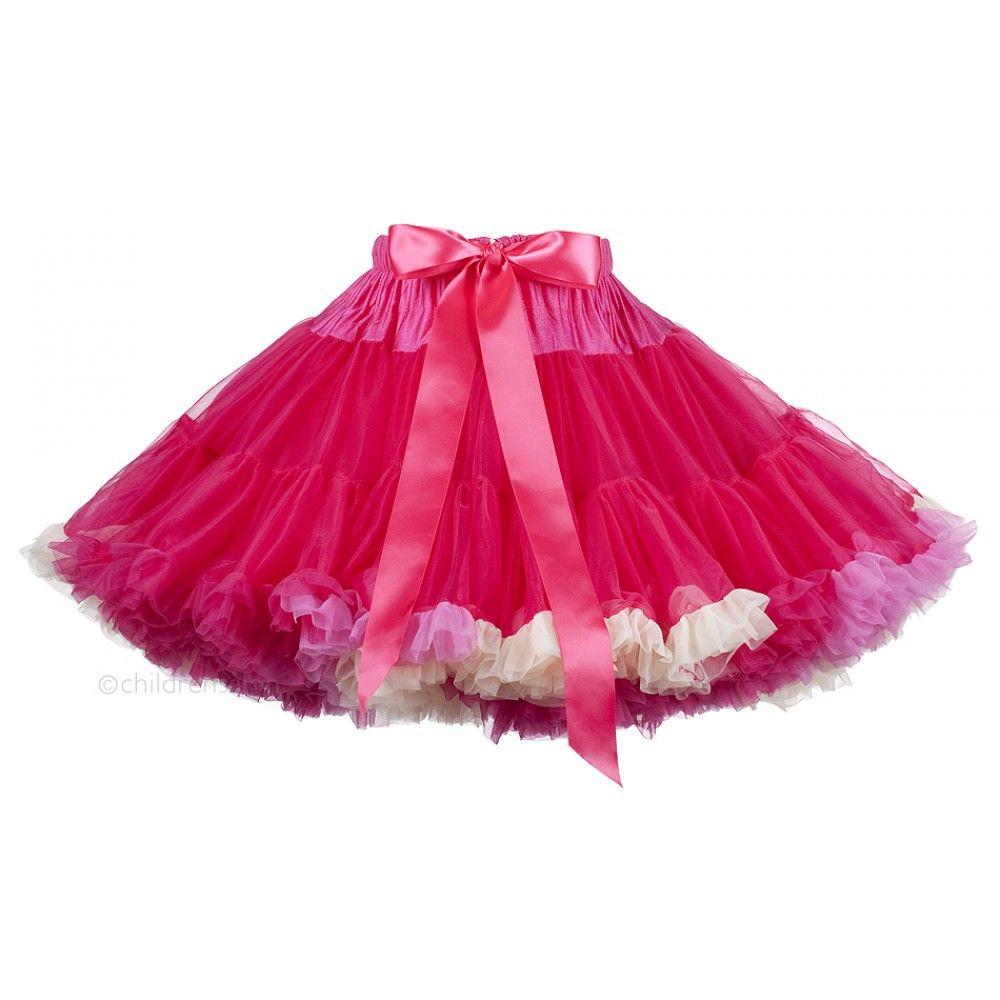 e3e0f8228d ANGEL'S FACE Fuchsia Pink Chiffon Frilled Tutu Skirt | Angel's Face ...