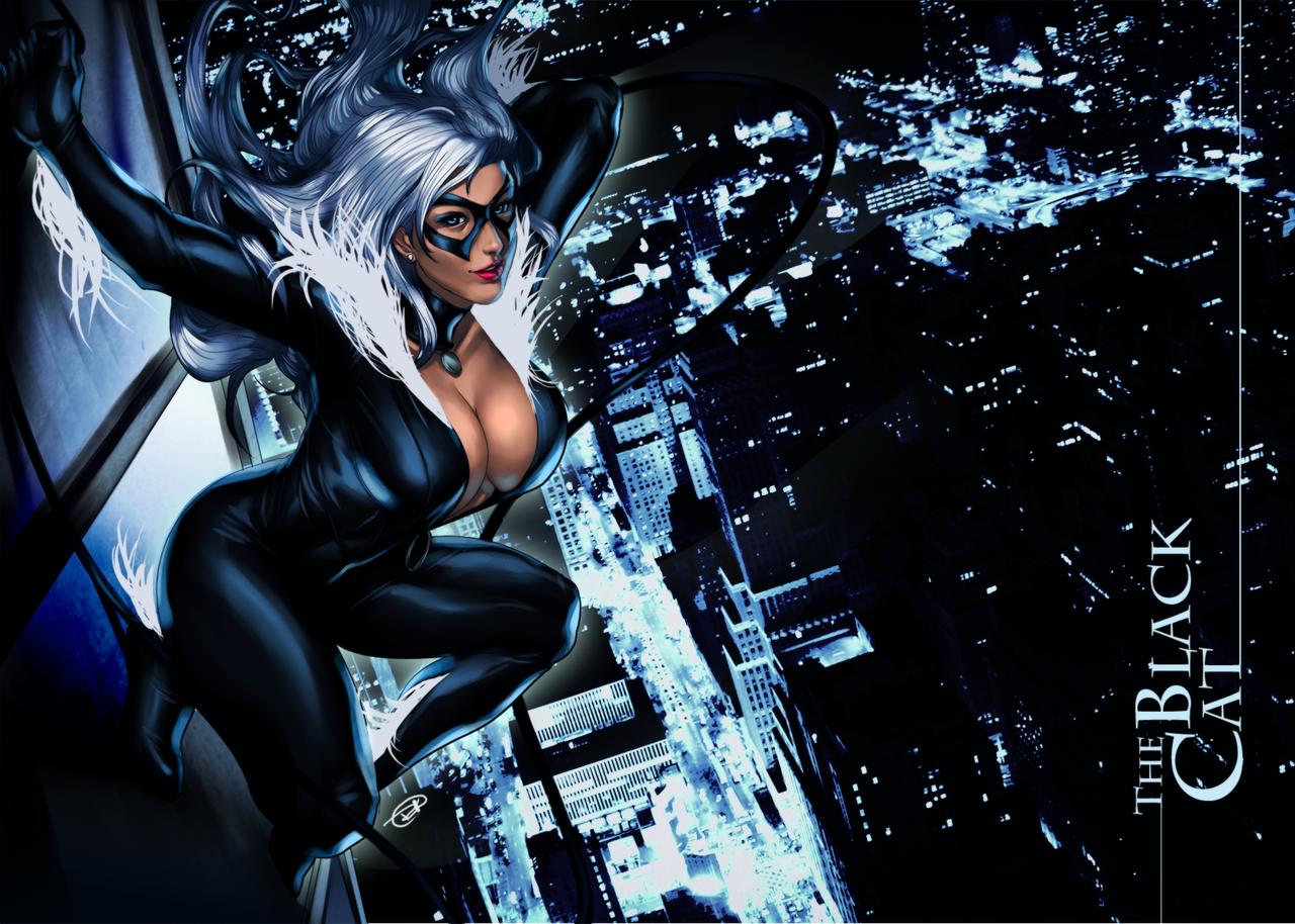Black Cat Wp By Google123 Black Cat Marvel Black Cat Comics Black Cat Marvel Comics