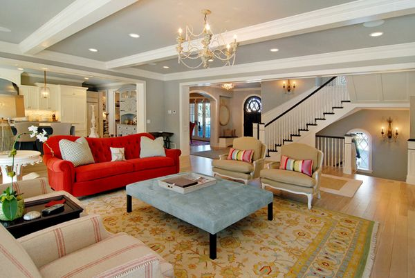 Living Room Red Couch 22 beautiful red sofas in the living room | living rooms, room and