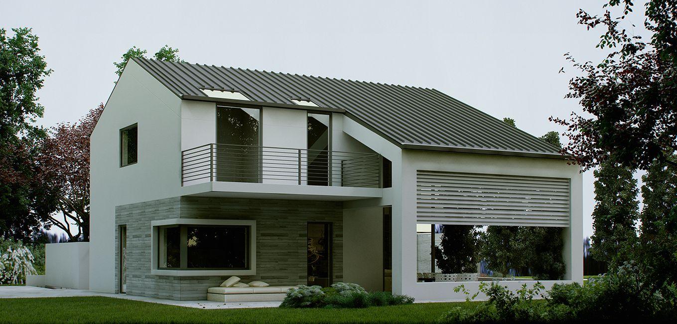 Villa prefabbricata in provincia di Milano MI  Case Prefabbricate di Lusso  Casa nel 2019