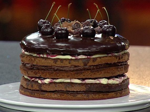 Master Chef Black Forest Cake A Lot Of Steps But Looks Totally Worth It