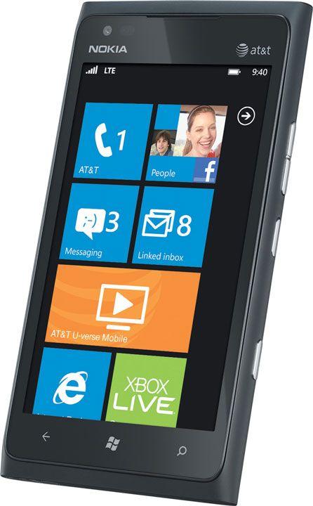AmazonWireless: Nokia Lumia 900 4G Windows Phone, Black (AT)