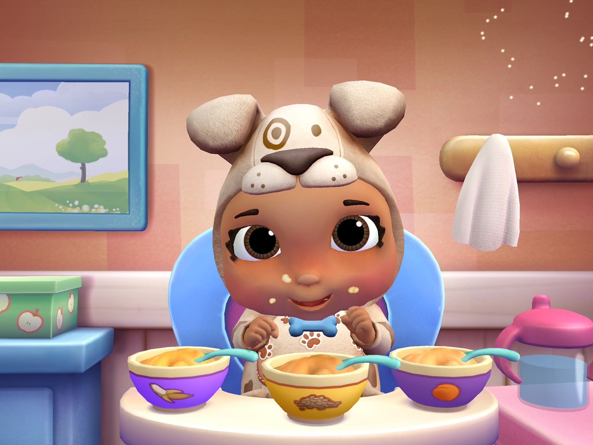 Doc Mcstuffins Baby Nursery App Your Kids Can Help Take Care Of All Of The Babies In The Mcstuffins Toy Hospital Nur Doc Mcstuffins Baby Nursery Baby Disney