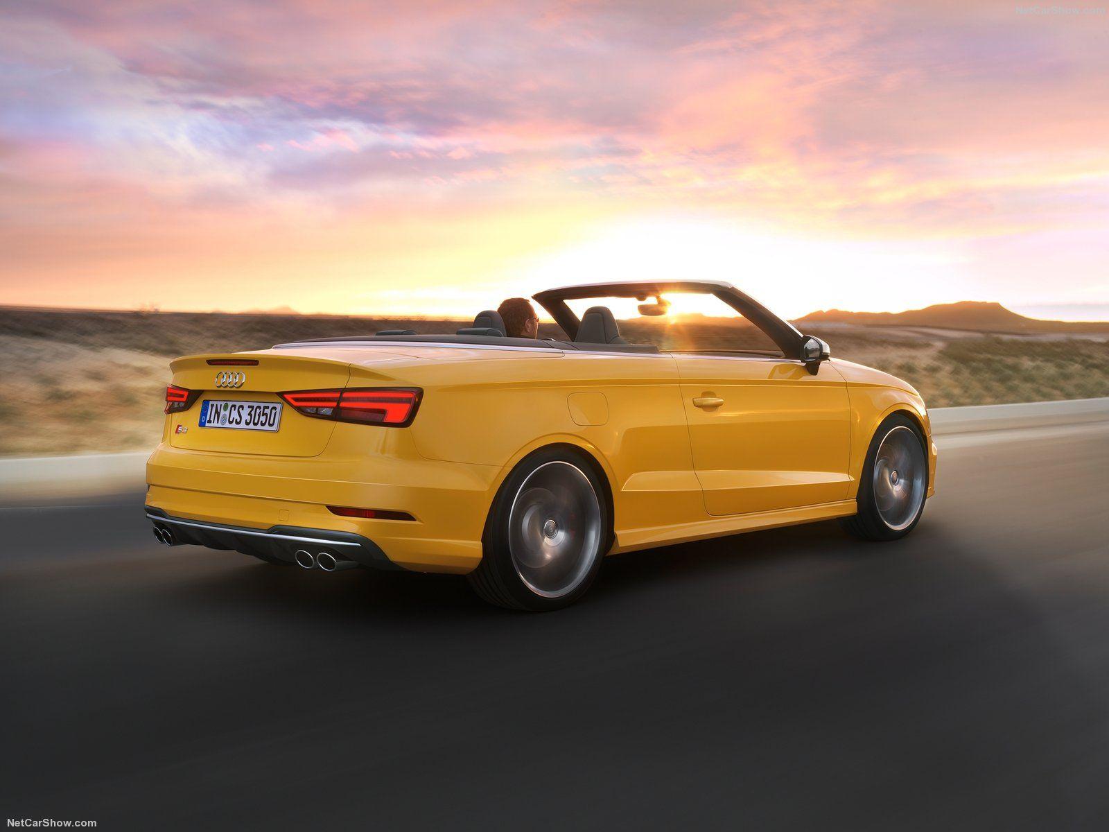 2017 Audi S3 Cabriolet Audi A3 Audi Audi Quattro