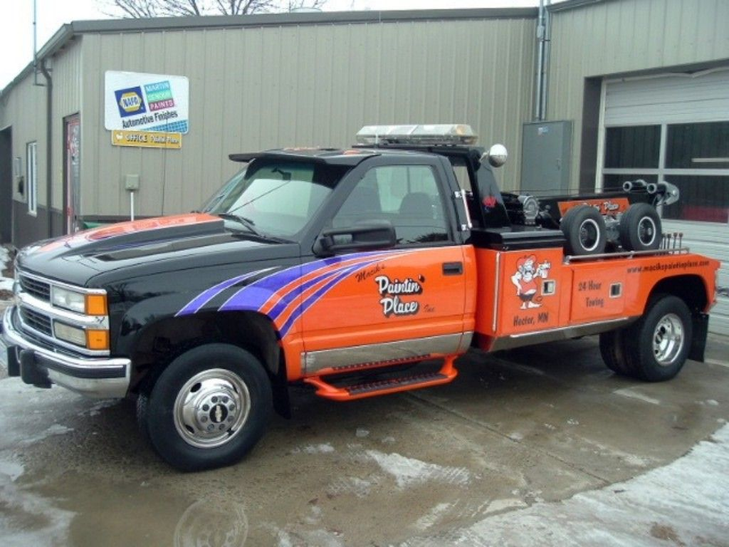 Tow truck custom truck auto paint google search