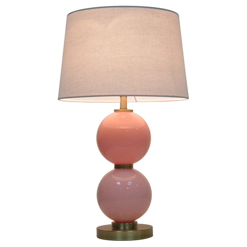 Gl Table Lamp With Touch On Off