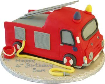 Fireman cake Firefighter Cakes Cookies Pinterest Fireman