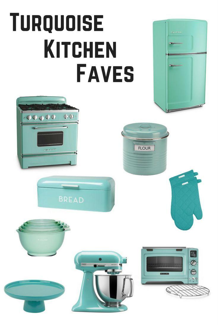 12 Turquoise Kitchen Accessories   Kitchen accessories, Favorite ...