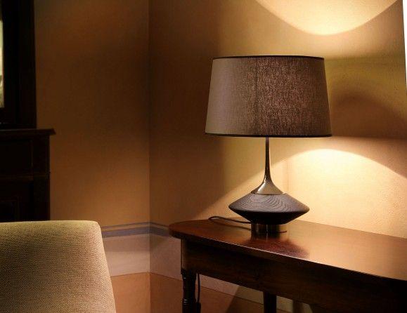 Oak And Glass Table Lamps: Wood Tavolo S Italian Table Lamp Shown In Oak Wood. Table