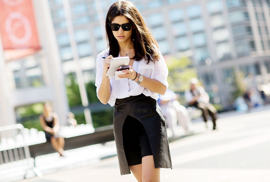 Black and white is always a good idea // Photo by The Styleograph #NYFW #streetstyle