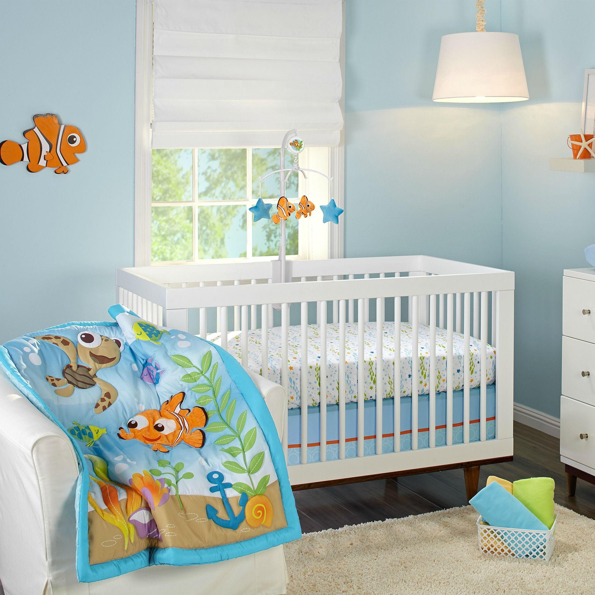 Finding Nemo Premier 4 Piece Crib Bedding Set Cribs
