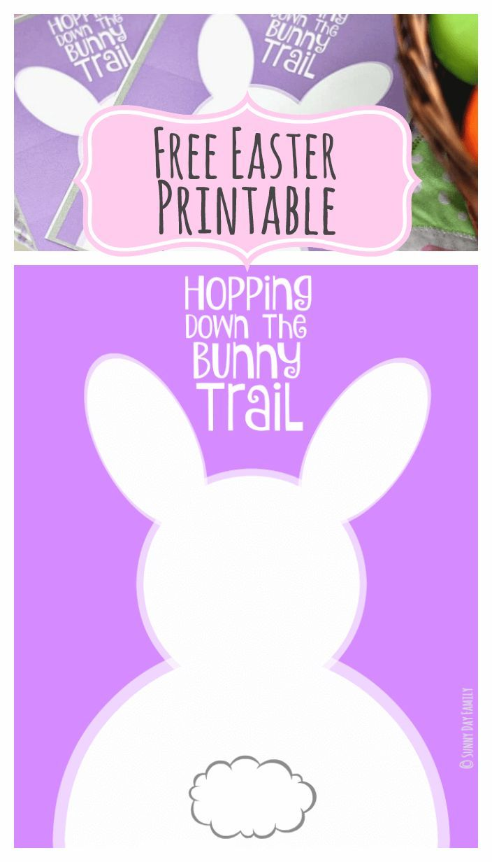 photograph relating to Printable Easter Decorations identify Hopping Down the Bunny Path: No cost Easter Printables within 2