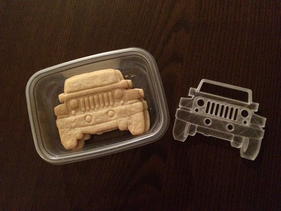 Jeep Wrangler Cookie Cutter By Kswaid With Images Jeep Tort