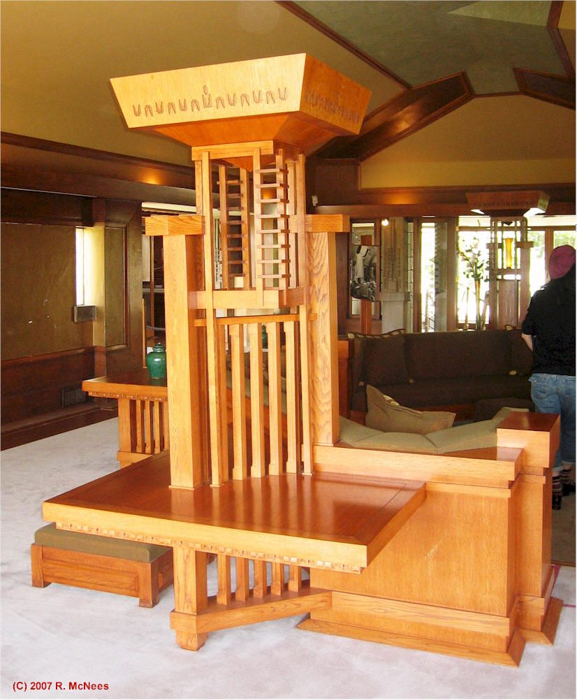 Frank Lloyd Wright Bedroom Furniture