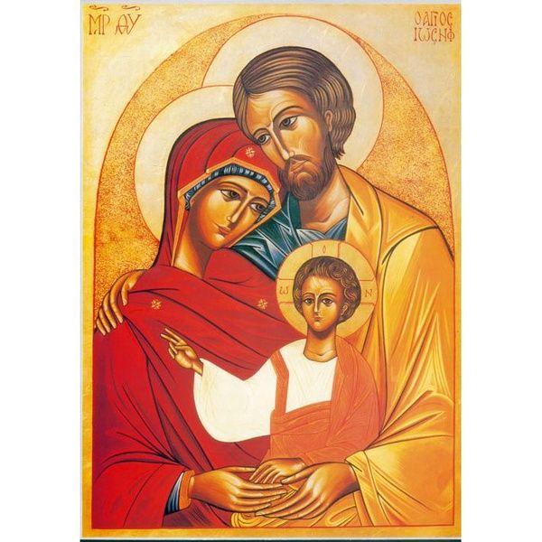 Souvent Icone Sainte Famille, icônes religieuses - cadeaux religieux  EH78