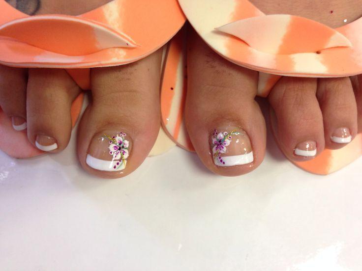 Tropical Toe Nail Art - Bing Images - Tropical Toe Nail Art - Bing Images Toe Nails Pinterest Toe