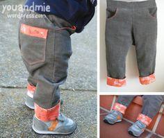 Tutorial: Easy Pants Cuffs