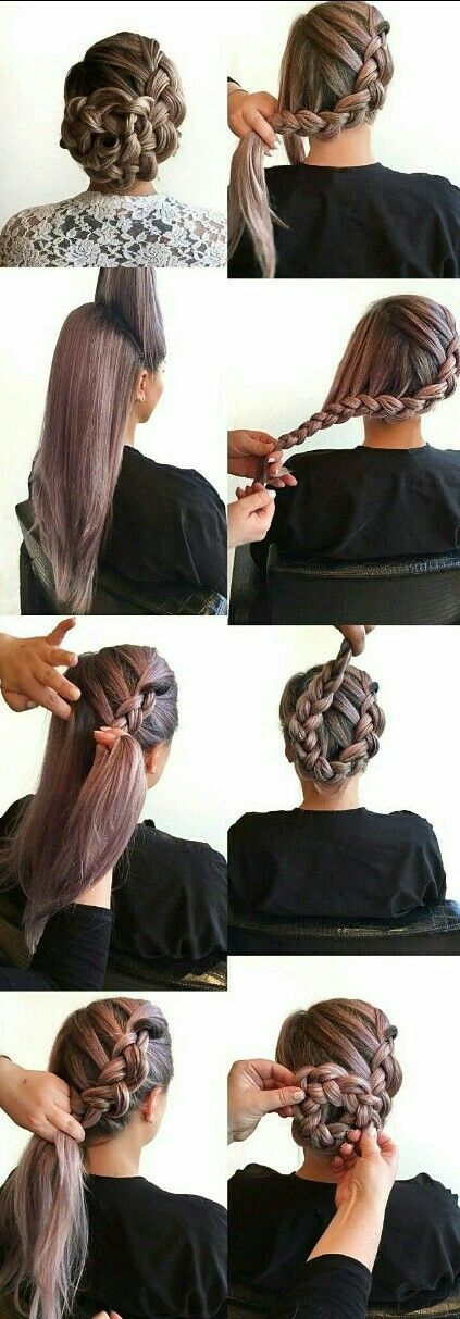Https Www Facebook Com Groups Your Hair Revolution Braided Updo Mermaid Hair Diy Braiding St In 2020 Plaits Hairstyles Easy Hairstyles For Long Hair Smooth Hair
