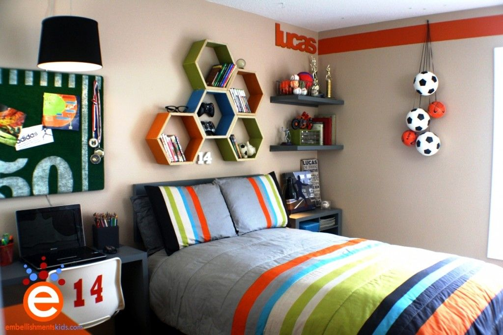 cool sports bedrooms for guys. Cool Sports Themed Bedroom Designs For Boys Bedrooms Guys Pinterest