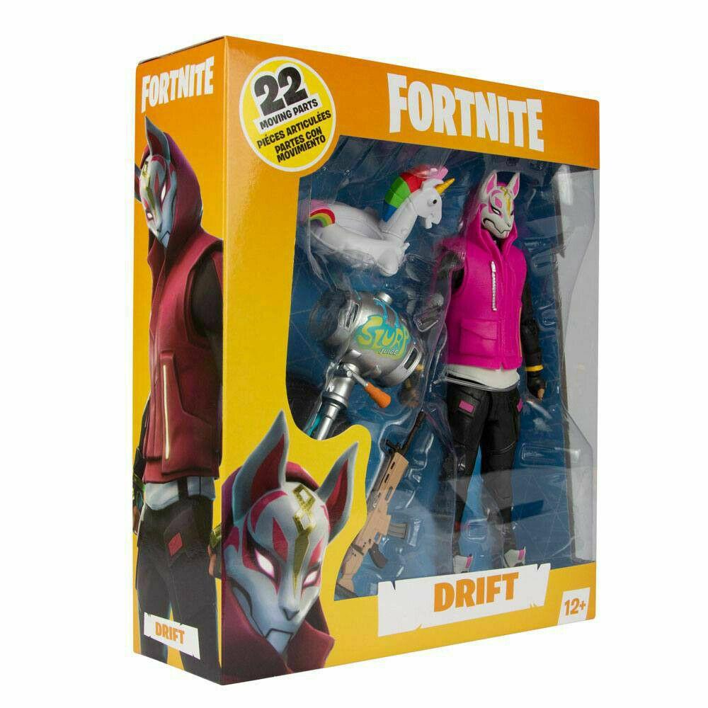 Fortnite Drift Mcfarlane Action Figure In Stock Now New Official Uk Seller Fortnite Uk Game Collectible Toys Action Figures Action Figures Fortnite