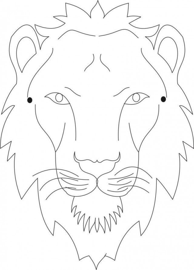 Lion Mask Coloring Page Download Printable Coloring Pages 175999 Az Coloring Pages Lion Coloring Pages Animal Coloring Pages Animal Mask Templates