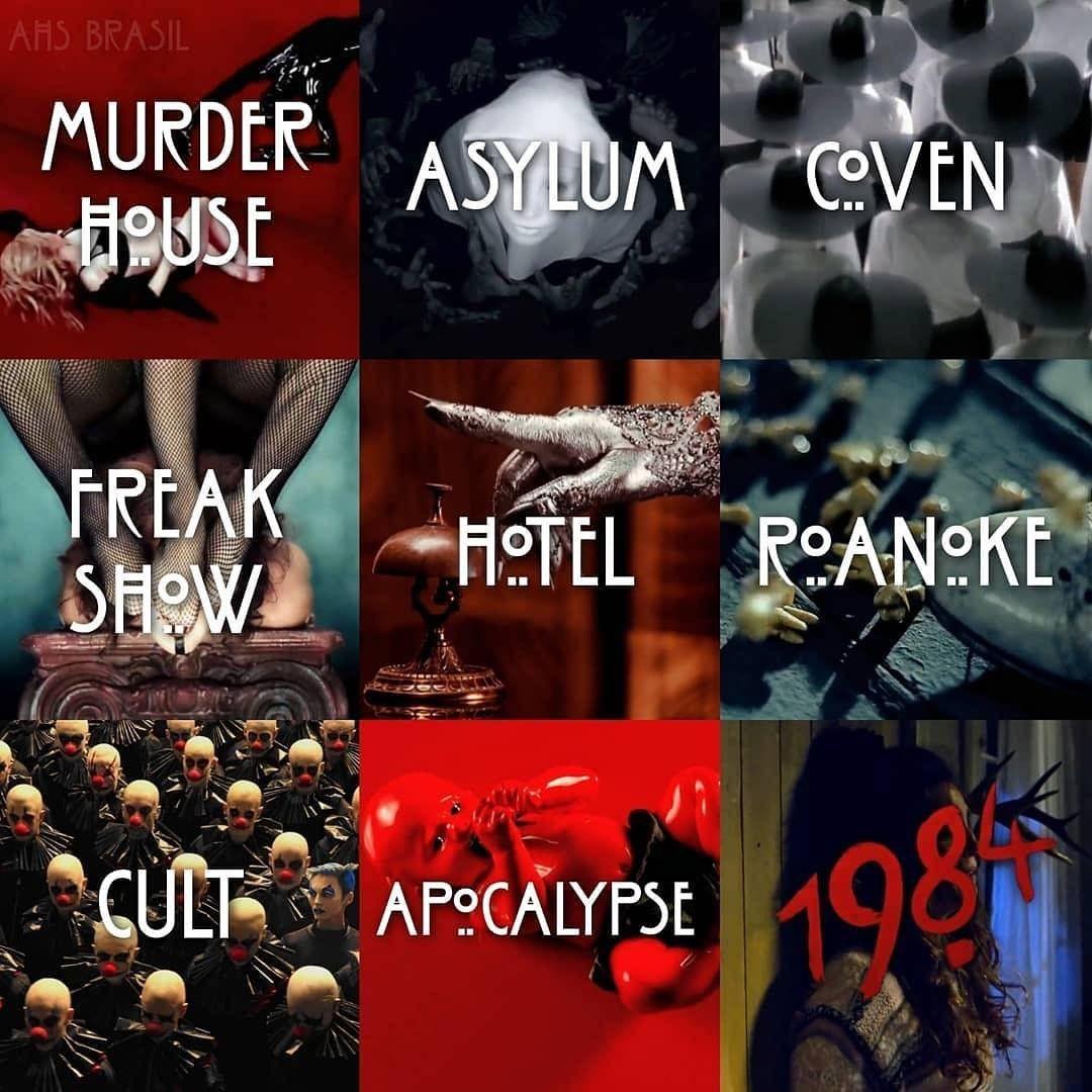 American horror story seasons | American horror story seasons, American  horror story costumes, American horror