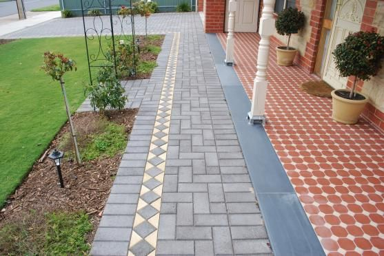 Get Inspired By Photos Of Paving From Australian Designers Trade Professionals Page 5get Inspired By Photos Of Pav Garden Slabs Garden Paving Paving Design