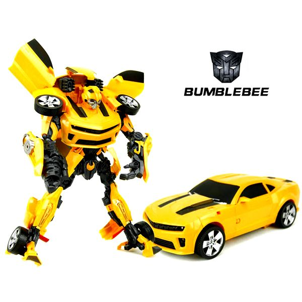Transformers Autobot Bumblebee Robot Car Toy with Light and