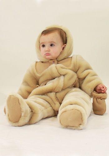 2eb5d1dcdf24 designerchildrenswear  chloe  baby  girl  fauxfur  snowsuit  cute ...
