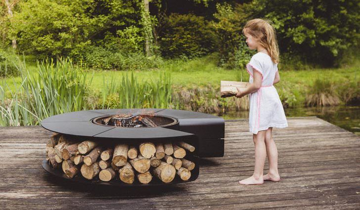 BBQ Grillring Vuurschaal   Vuurkuil   Pinterest   Barbecues, Steel Fire Pit  And Sustainable Living