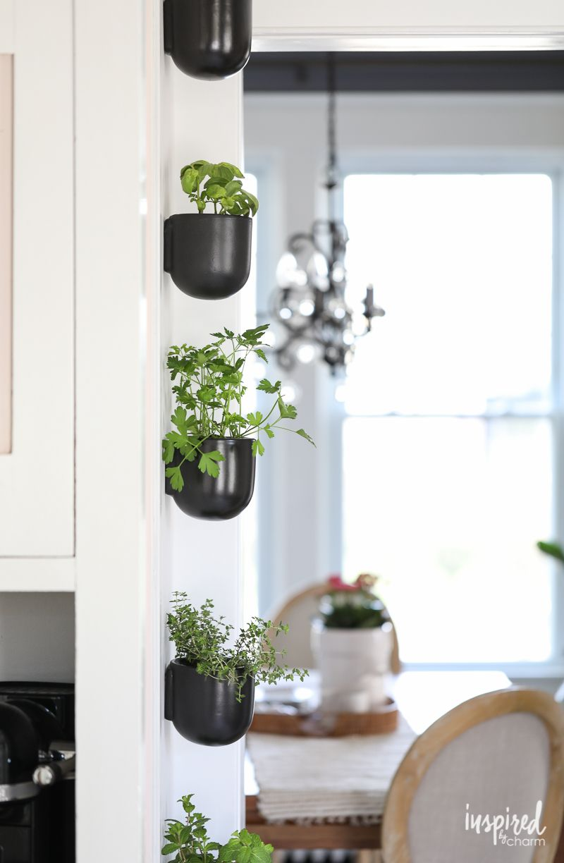 how to create a vertical modern herb garden for your on indoor herb garden diy wall vertical planter id=40450