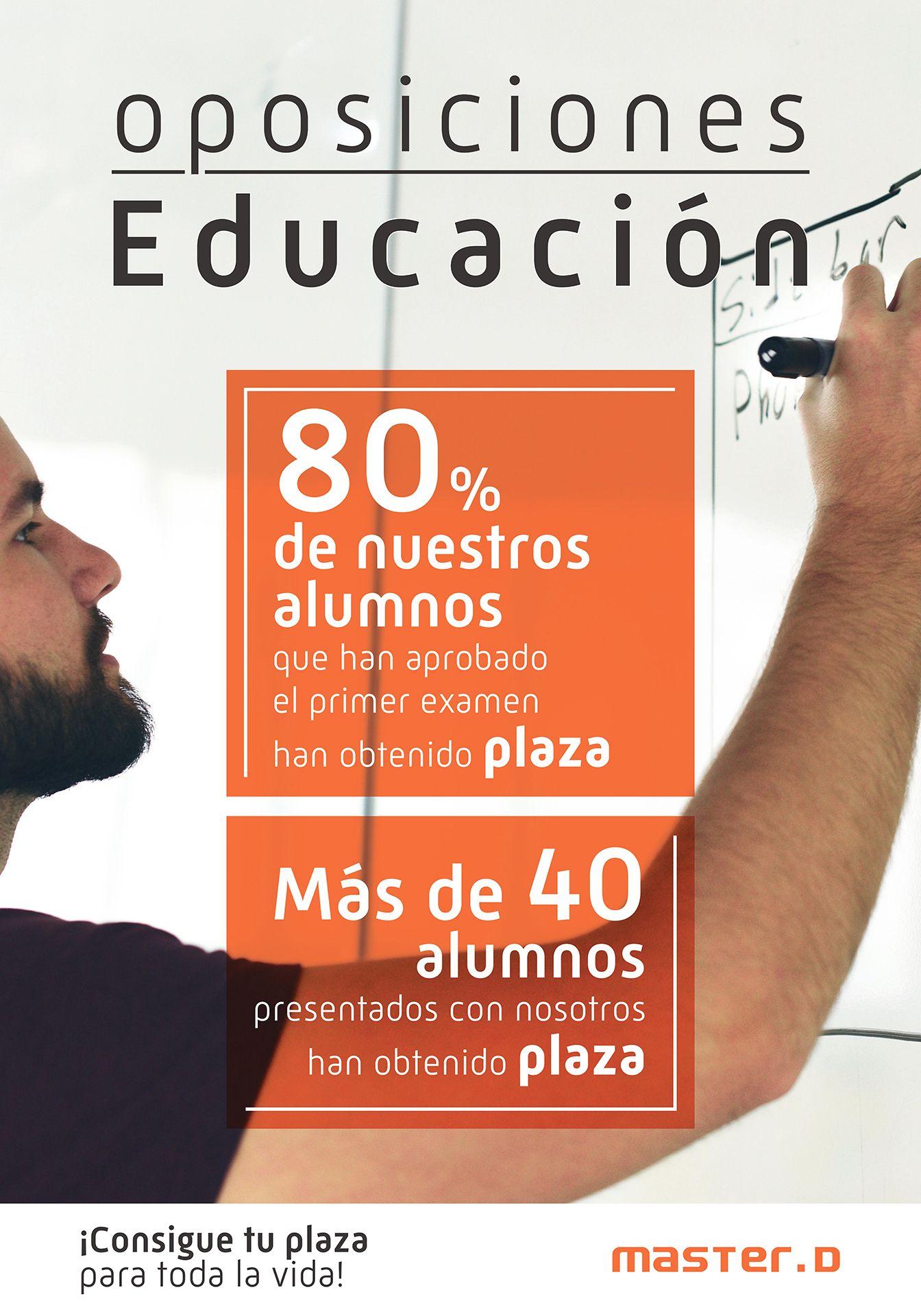Academia Líder En Aprobados En Oposiciones De Primaria Y Secundaria Oposicion Educacion Primaria Secundaria