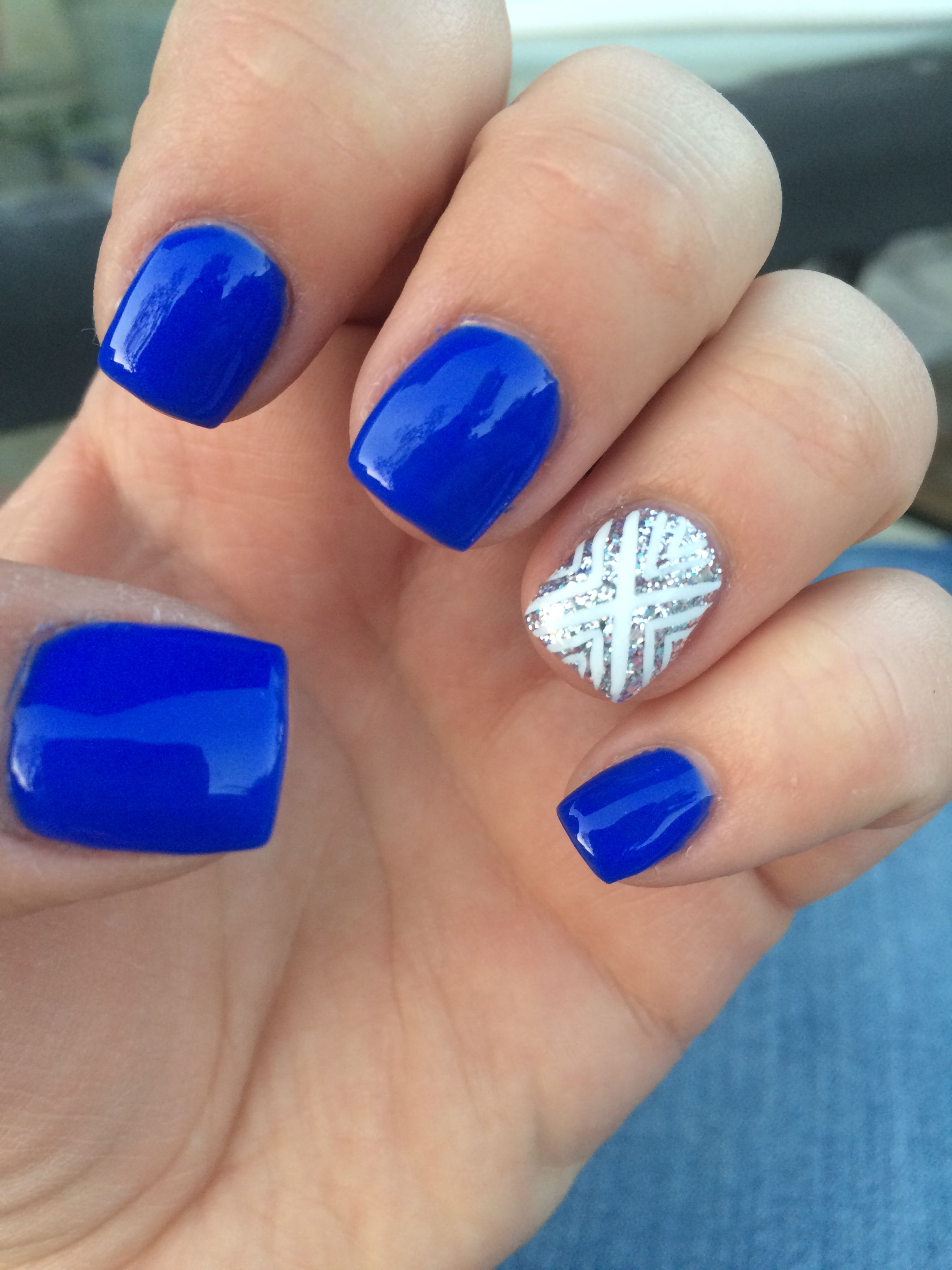 Cute gel nails by Courtney m | My Style | Pinterest | Make up, Nail ...