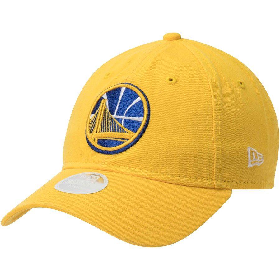 4037d42db229 Women s Golden State Warriors New Era Gold Team Core Classic 9TWENTY  Adjustable Hat